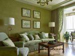 Гостиная в оливковых тонах – Оливковый цвет в интерьере, дизайн квартиры, комнаты, помещения, примеры с фото