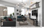 Гостиная в стиле лофт в хрущевке в светлых тонах – Декор интерьера квартиры в стиле лофт. Оформление гостиной, кухни, детской в стиле лофт | Фото и эскизы интерьеров 2017 года | Фото дизайнов интерьера 2017