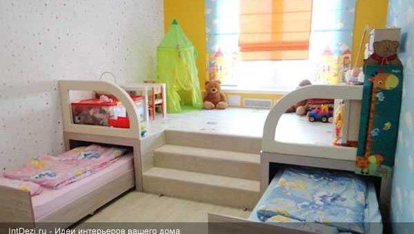 Идеи для детской комнаты для двоих детей – Дизайн маленькой детской комнаты — идеи интерьера для девочки и мальчика, как организовать пространство и обставить, варианты планировки, в тч для двоих детей и подростков + фото