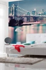 Идеи для спальни с фотообоями – над кроватью и на стенах, примеры дизайна интерьера маленькой комнаты, розы, какие выбрать по фэн-шуй