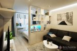 Идеи интерьера гостиная – оформление интерьера маленькой комнаты, красивые залы в квартире в современном стиле