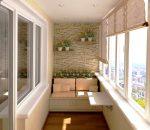 Идеи отделка балкона – интересные идеи оформления и фото, как украсить маленький деревянный балкон, как красиво сделать внутри балкона систему хранения