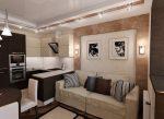 Идеи ремонта в гостиной – реальные примеры-2018 дизайна гостиной в обычной квартире, как красиво сделать ремонт зала, офомление маленькой комнаты