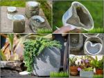 Идеи украшения для сада – Украшение сада своими руками из подручных материалов, камней и пластиковых бутылок: фото