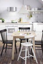 Икеа кухня стулья – складные деревянные белые кухонные модели со спинкой, прозрачные и раскладные табуреты