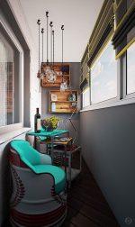 Интерьер балкона – Дизайн интерьера балкона (25 фото): планировка, отделка и обстановка