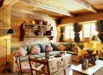 Интерьер частного дома своими руками фото – интерьер деревянного зала на даче, оформление частного дачного строения