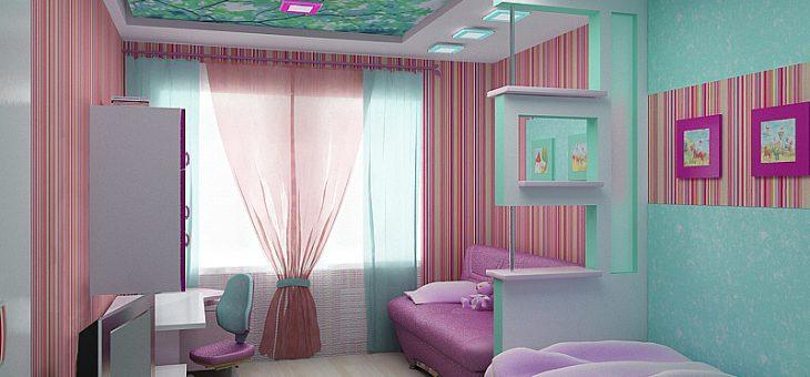 Интерьер детской для двух детей комнаты фото – Дизайн детской комнаты для двух девочек разного возраста: особенности, зонирование, фото