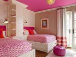 Интерьер детской комнаты фото для двух девочек – дизайн комнаты для разного возраста, мебель в интерьере, кровать для подростков сестер