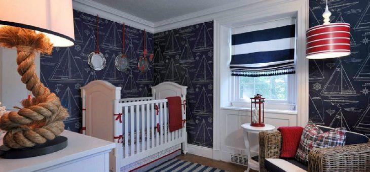 Интерьер детской комнаты мальчика