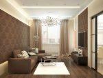Интерьер дизайн гостиной 18 метров