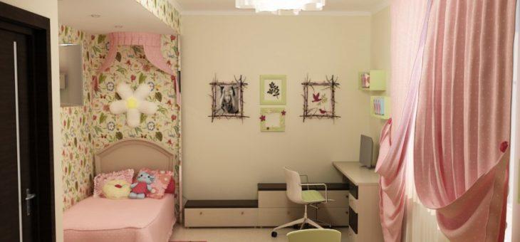 Интерьер для детской комнаты девочки 7 лет