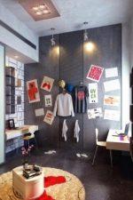 Интерьер для комнаты молодого человека фото – интерьер в современном стиле для парня 20 лет, варианты оформления спальни для юноши
