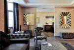 Интерьер гостиной в стиле ар деко – особенности дизайна квартиры, как подобрать картины, шторы и прочие элементы + фото реальных объектов