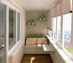Интерьер лоджия – Интерьер балкона фотогалерея: современное оформление своими руками