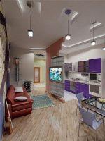 Интерьер малогабаритных квартир – Создаем интерьер малогабаритной квартиры, фото. Что пригодится при ремонте в квартире с маленькой площадью?