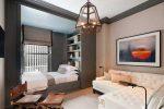 Интерьер спальни с гостиной – дизайн совмещенной гостиной и зоны для сна в одной комнате, оригинальные проекты интерьера, в классическом стиле и прованс
