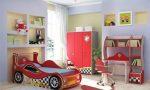 Интерьер спальни совмещенной с детской фото – фото дизайна интерьера, сделать комнату с окном, комплекс для взрослого ребенка, принадлежности