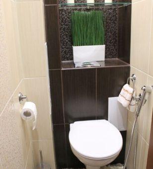 Интерьер туалета и ванной – Санузел раздельный дизайн — Только ремонт своими руками в квартире: фото, видео, инструкции