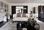 Интерьер в черно белых тонах фото гостиной – фото интерьера, тона для зала, мебель и дизайн, цвета и стили, стекло серое в квартире