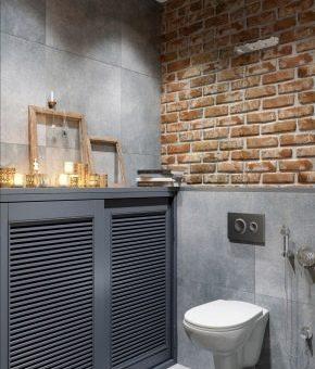 Интерьер в стиле лофт ванной комнаты – дизайн комнаты с маленькой площадью, офомление интерьера своими руками