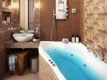 Интерьер ванной 2 кв м