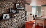 Искусственный камень на стене на кухне – Искусственный камень на стену в кухни. Стена из камня в интерьере кухни. Проемы, ниши и углы стен из камня
