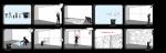 Как клеить фотообои на стену из восьми частей видео
