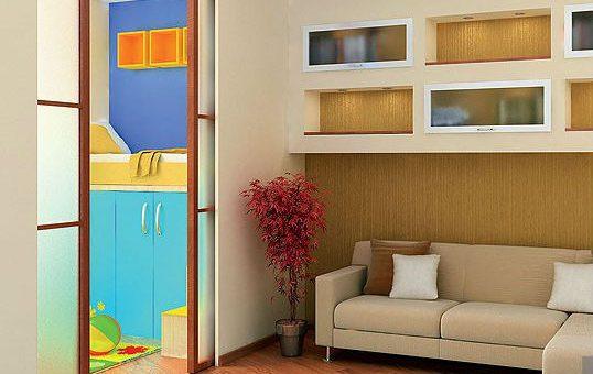 Как комнату разделить на две зоны детскую и взрослую