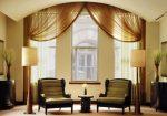 Как красиво оформить шторы – оригинальные идеи оформления окон, как вешается кисея, драпировка и другие варианты в интерьере