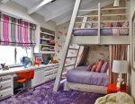 Как обустроить детскую комнату для двоих детей – оригинальные решения в оформлении. Как оформить комнату для двоих детей. Организация детской комнаты для двоих. Мебель и оформление детской для двоих детей.Информационный строительный сайт |