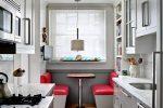 Как обустроить длинную узкую кухню – кухни для узкой кухни, планировка интерьера маленькой кухни, мебель угловой кухни, видео