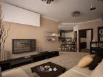 Как оформить красиво зал в доме – дизайн комнаты, фото в квартире, марсала и осеннее, как можно гирляндами, обеденный интерьер самостоятельно
