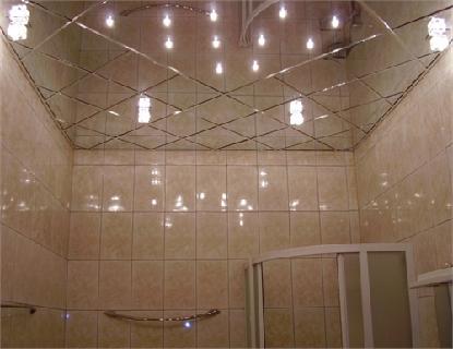 Как отделать потолок в ванной – видео-инструкция по монтажу своими руками, чем и как отделать лучше, варианты, фото