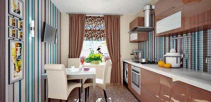 Как подобрать обои двух цветов для кухни – Дизайн кухни — какой цвет обоев выбрать для кухни? Основные правила подбора расцветки обоев для кухни, фото