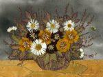 Как сделать рисунок из сухих листьев – Как сделать картину или панно из сухих цветов и листьев 🚩 панно из сухоцветов 🚩 Дизайн