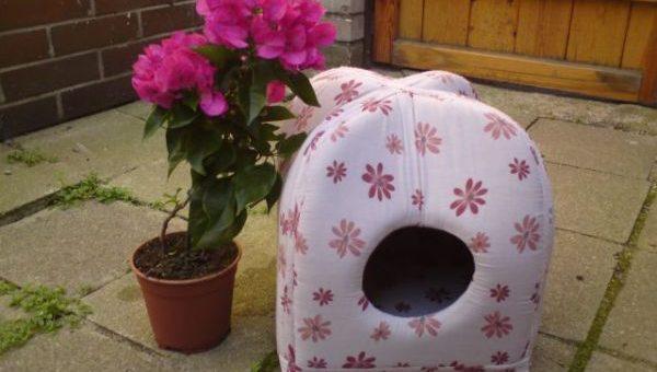 Как сшить дом для кошки – Домики для кошек с выкройкой. Как сшить домик для кошки или собаки из ткани