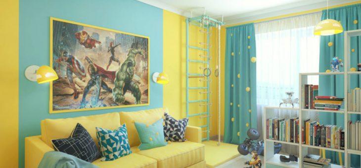Как в детской украсить стены в – Стены в детской комнате — 100 фото лучших новинок современного дизайна