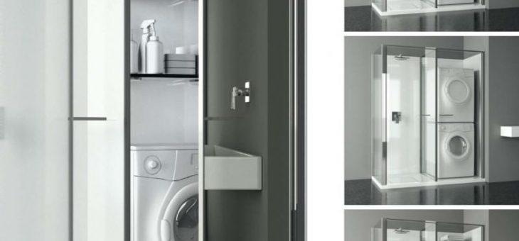 Как в ванной спрятать стиральную машину