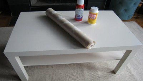 Как задекорировать журнальный столик своими руками – Фото оригинальных дизайнерских журнальных столиков своими руками: декупаж, декорирование