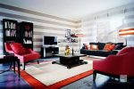 Какой цвет сочетается с красным в интерьере – Сочетание цветов в интерьере — какую цветовую гамму подобрать для спальни, кухни, гостиной, примеры палитры и таблица + фото