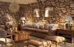 Каменные обои в интерьере фото – декоративные отделочные материалы с каменным рисунком в интерьере, светлые фактурные покрытия в виде натурального и искусственного камня