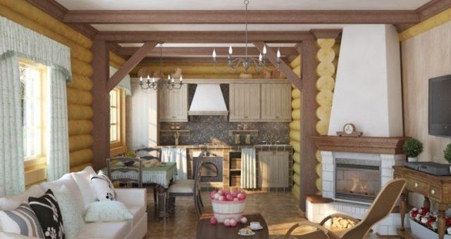 Камин в гостиной с телевизором – с телевизором, в частном доме , в маленькой квартире, в загородном деревянном доме. Дизайн проект небольшого зала в 20 кв м с угловым электрическим камином, фото