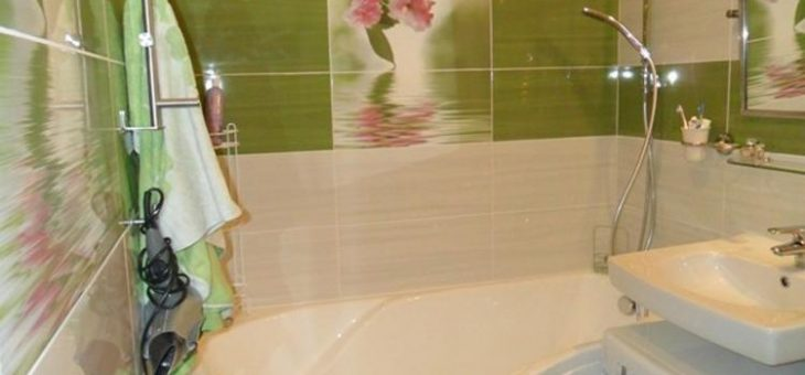 Керамическая плитка для ванной в хрущевке дизайн фото