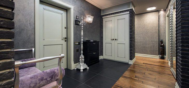 Кирпич белый фактура – камень и гипс на кухне, в гостиной и в коридоре, укладка кирпича и отделка стен, варианты дизайна