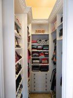 Кладовая гардеробная – как сделать и обустроить вместительный гардероб в квартире панельного дома, варианты в прихожей