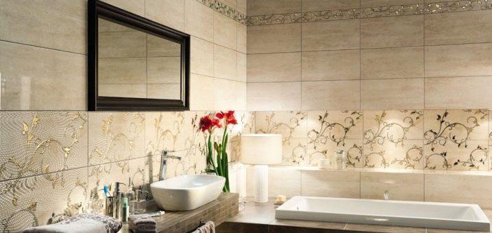 Классическая плитка для ванной комнаты – современные материалы в классическом английском, скандинавском и восточном стилях, прованс и лофт, пэчворк и других