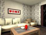 Комбинации обоев в гостиной – сочетание двух цветов для дизайна, комбинация, как правильно скомбинировать, поклеить, видео