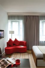 Комната студия с кухней фото дизайн 30 кв м – планировка современного интерьера с одним окном и с балконом, как обустроить прямоугольную комнату