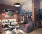 Комнаты для подростков в стиле хай тек – Дизайн комнаты для мальчика-подростка (56 фото): интерьер подростковой, детской, спальня юноши в стиле лофт, хай-тек, мебель